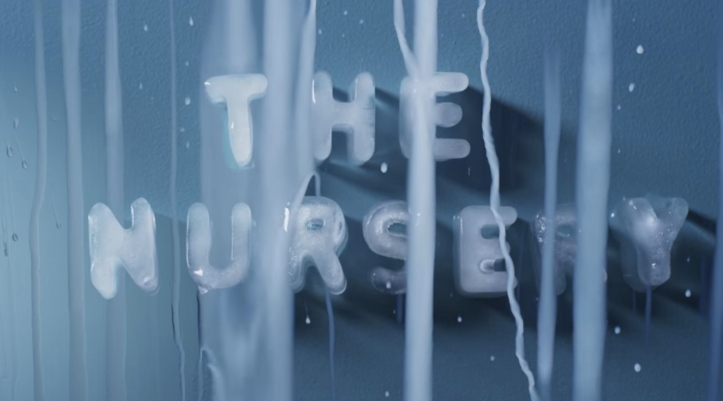 """Still from The Nursery's """"She Speaks the Wave"""" video"""