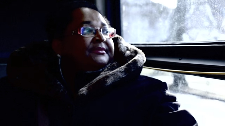 "Bernadette Hamilton-Reid in the video for Erin Costelo's ""Fighter"""