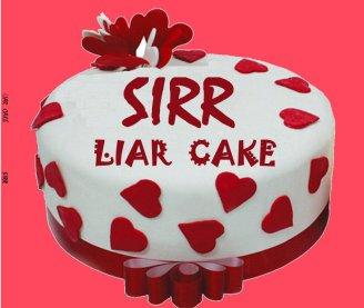 liar cake